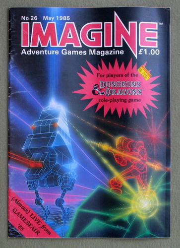 Image for Imagine Magazine, Issue 26 (May 1985)