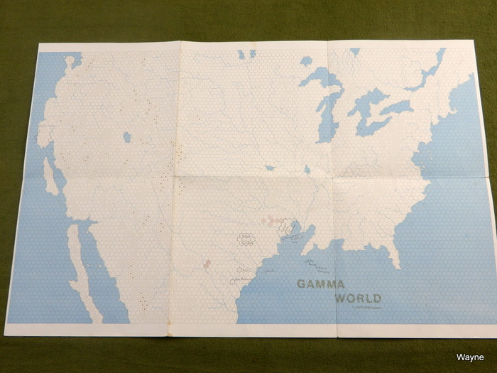 Image for Gamma World Map: 1st Edition - PLAY COPY