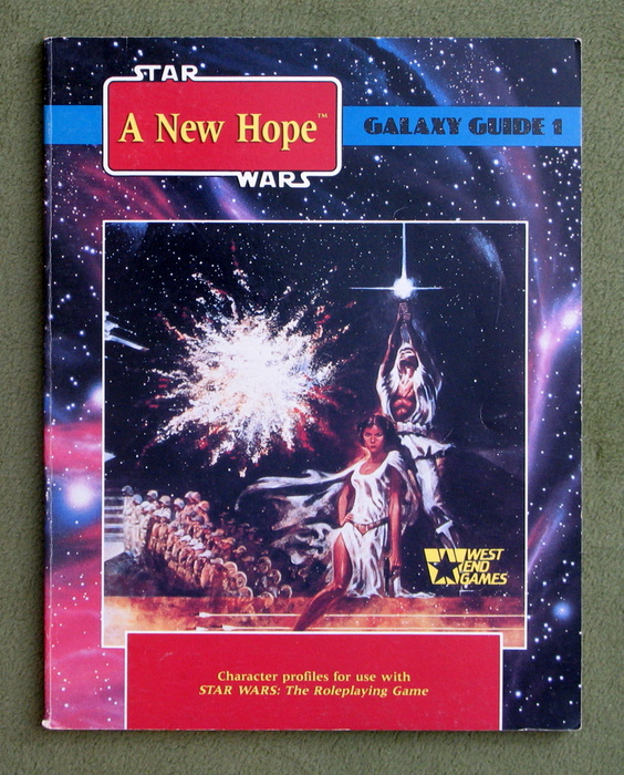 Image for Star Wars: A New Hope (Star Wars RPG: Galaxy Guide No 1)