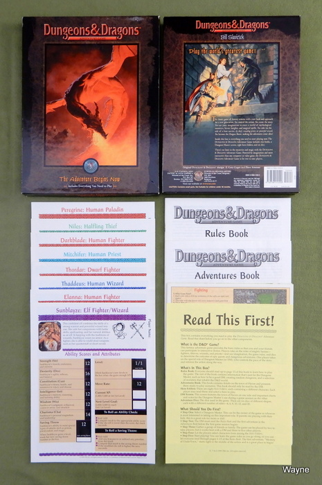 Image for Dungeons & Dragons Adventure Game: The Adventure Begins Now