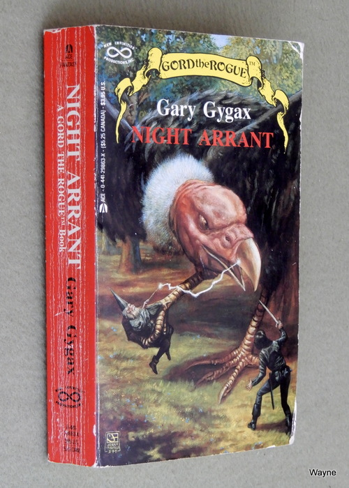 Image for Night Arrant (Gord the Rogue, No 2)