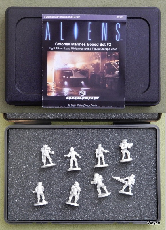 Image for Colonial Marines Boxed Set #2 (Aliens RPG Miniatures)