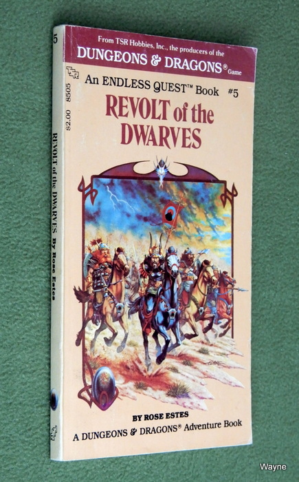 Image for Revolt of the Dwarves (Endless Quest Book 5: Dungeons & Dragons)
