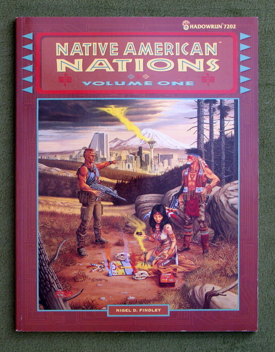 Image for Native American Nations, Volume One (Shadowrun)
