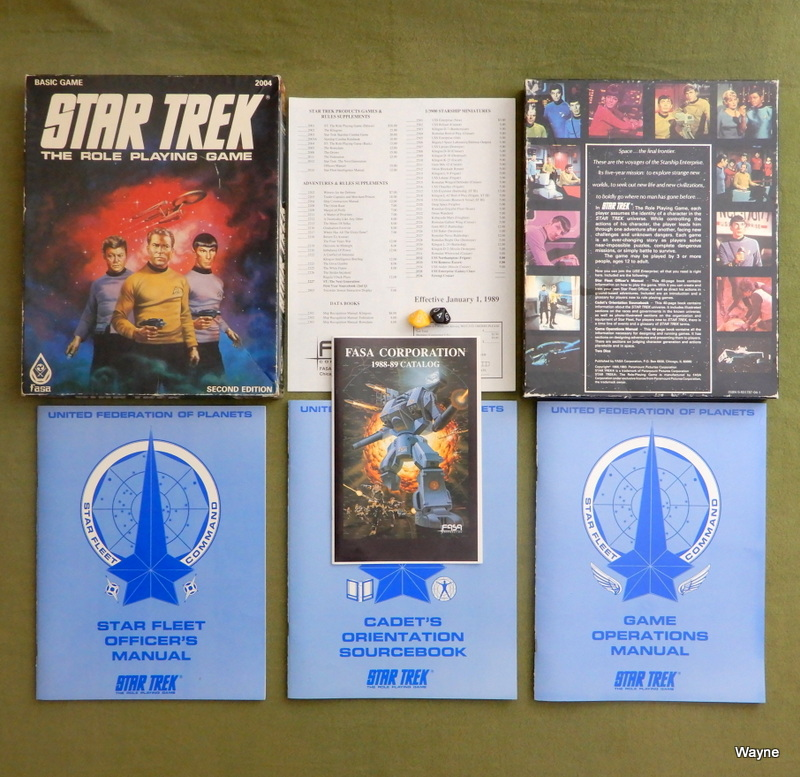 Image for Star Trek The Role Playing Game (Basic Game, 2nd Edition)