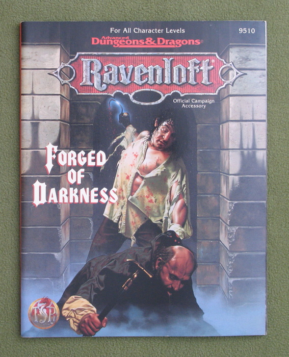 Image for Forged of Darkness (Advanced Dungeons & Dragons: Ravenloft)