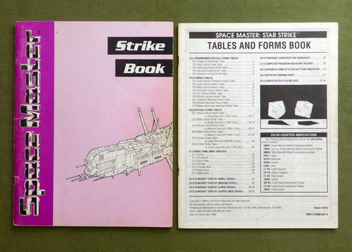 Image for Strike Book and Forms Book: Star Strike (Space Master, 2nd Edition)
