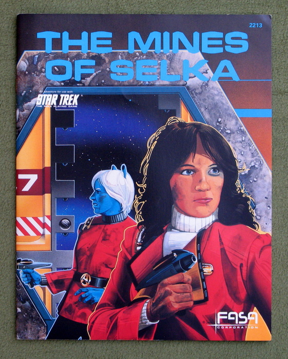 Image for The Mines of Selka (Star Trek: The Role Playing Game)