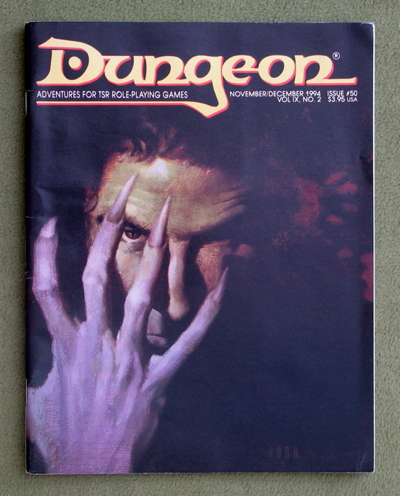 Image for Dungeon Magazine, Issue 50