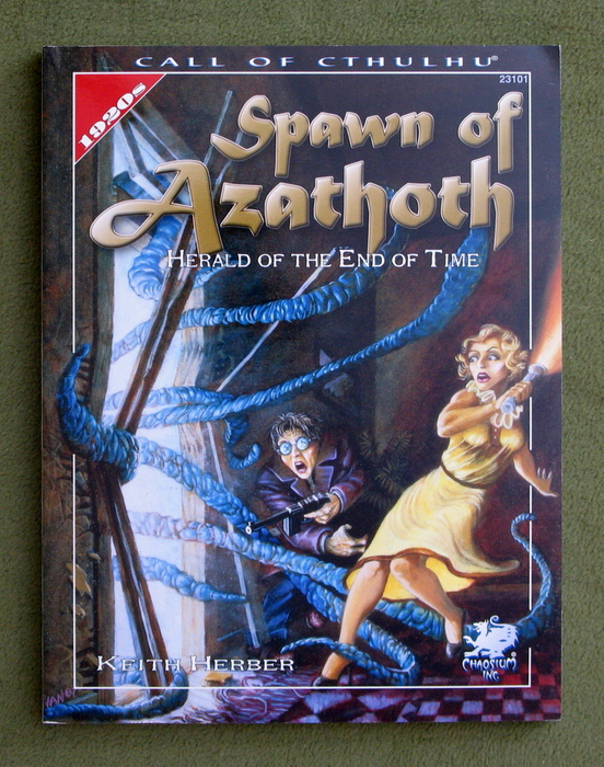Image for Spawn of Azathoth: Herald of the End of Time (Call of Cthulhu Horror Roleplaying)