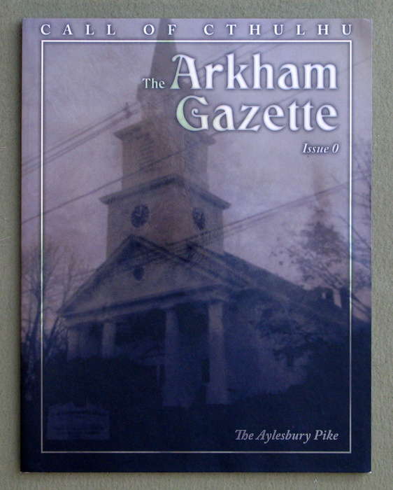 Image for The Arkham Gazette #0 (Call of Cthulhu)