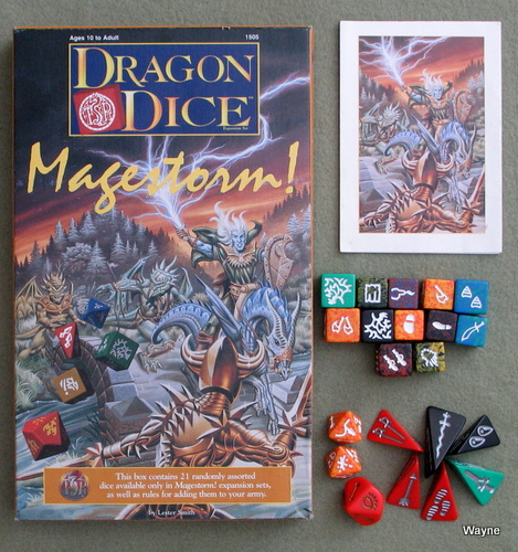 Image for Dragon Dice: Magestorm (Expansion Set)