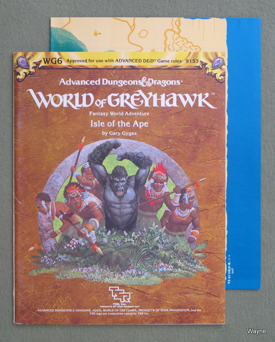 Image for Isle of the Ape (Advanced Dungeons & Dragons/Greyhawk Module WG6)