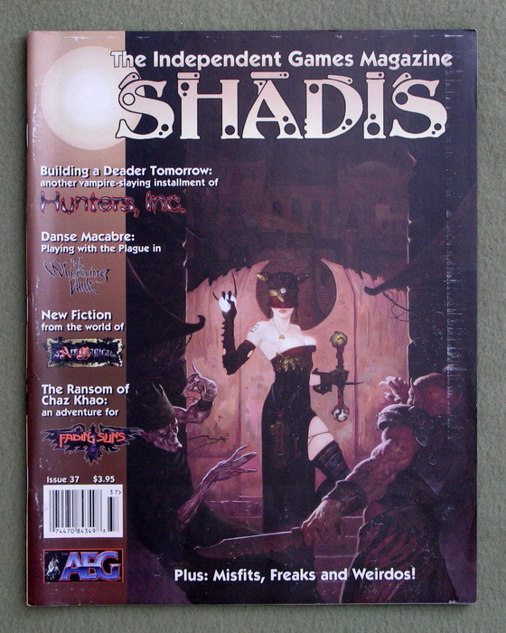 Image for Shadis: Independent Games Magazine, Issue 37