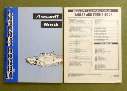 Image for Assault Book and Forms Book: Armored Assault (Space Master)
