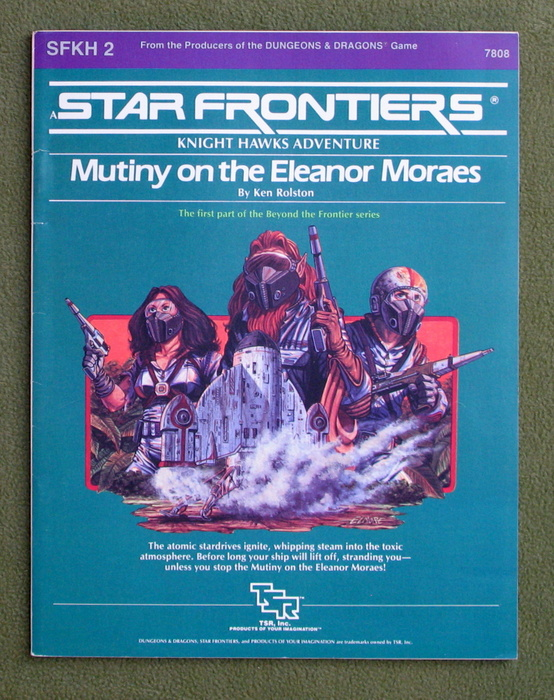 Image for Mutiny on the Eleanor Moraes (Star Frontiers module SFKH2)