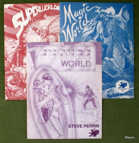 Image for Magic World, Superworld, Future World (Worlds of Wonder: Books only)