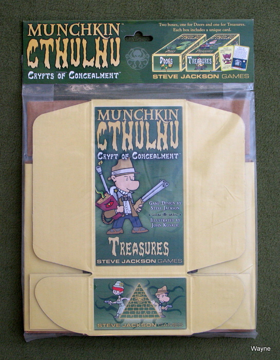Image for Munchkin Cthulhu: Crypts of Concealment
