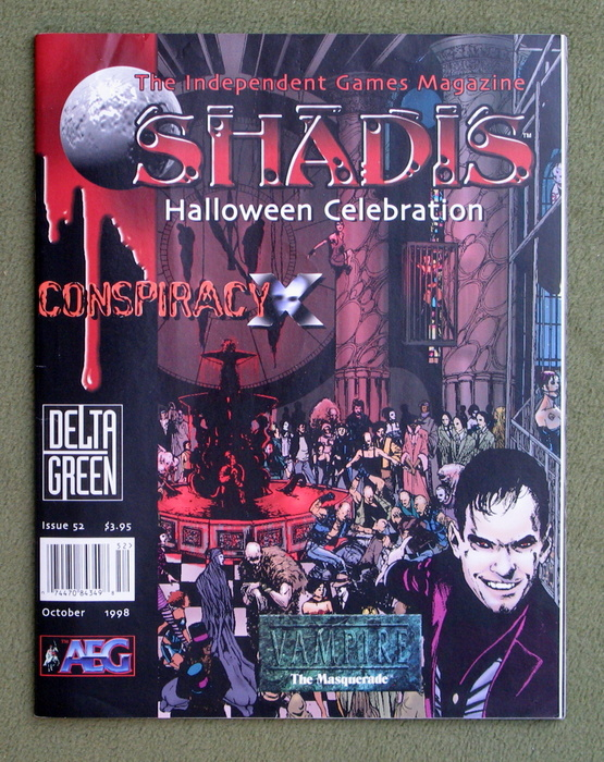 Image for Shadis: Independent Games Magazine, Issue 52