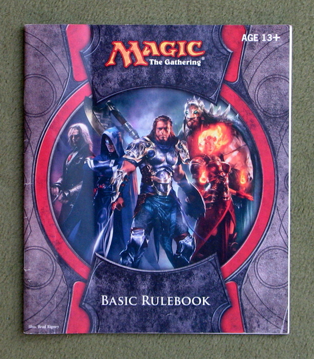 Image for Basic Rulebook (Magic The Gathering)