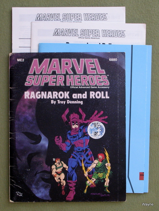 Image for Ragnarok and Roll (Marvel Super Heroes Module ME2) - PLAY COPY