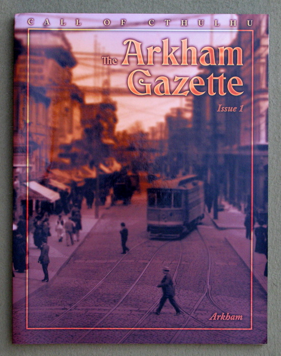 Image for The Arkham Gazette #1 (Call of Cthulhu)