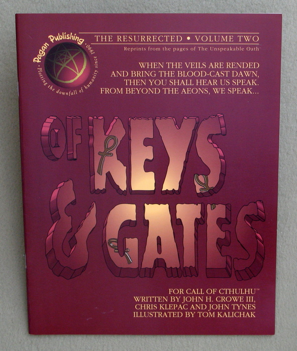 Image for Of Keys & Gates (Call of Cthulhu: The Resurrected, Vol. 2)