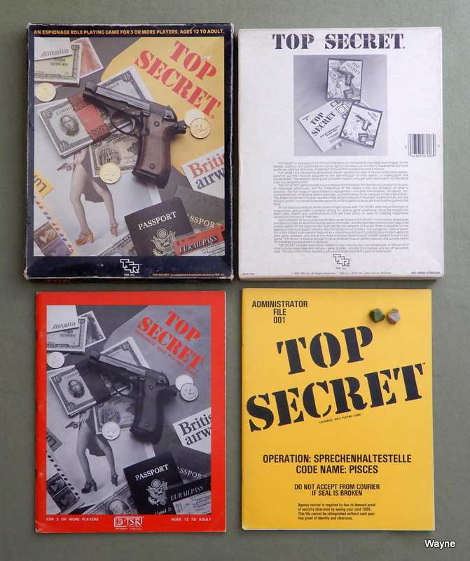 Image for Top Secret: Espionage Role Playing Game
