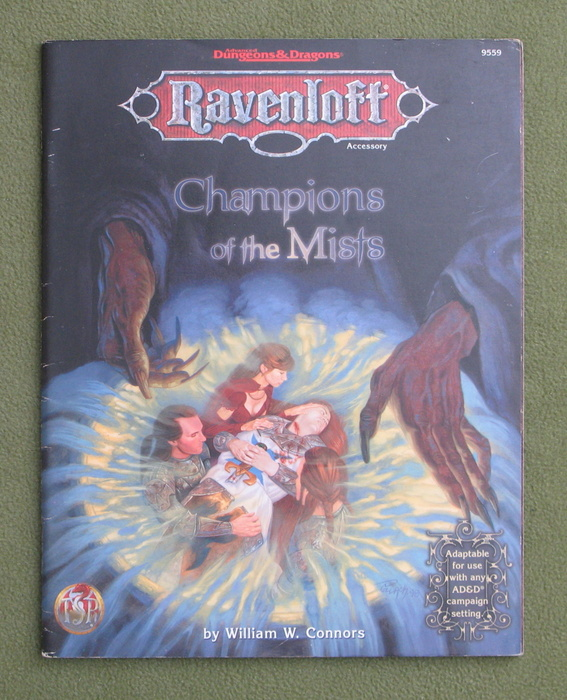 Image for Champions of the Mists (Advanced Dungeons & Dragons: Ravenloft)