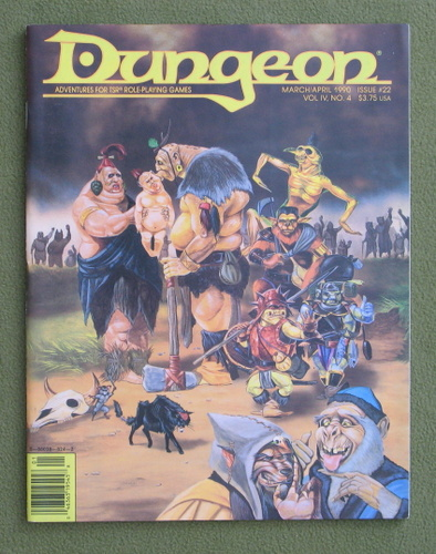 Image for Dungeon Magazine, Issue 22