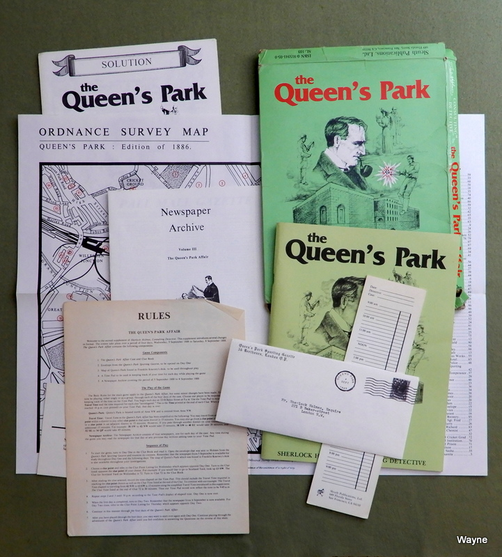 Image for The Queen's Park Affair (Sherlock Holmes Consulting Detective)