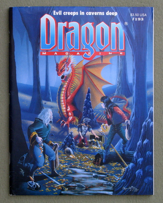 Image for Dragon Magazine, Issue 193