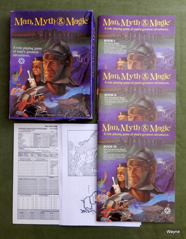 Image for Man, Myth, & Magic: A Role Playing Game of Man's Greatest Adventures - PLAY SET