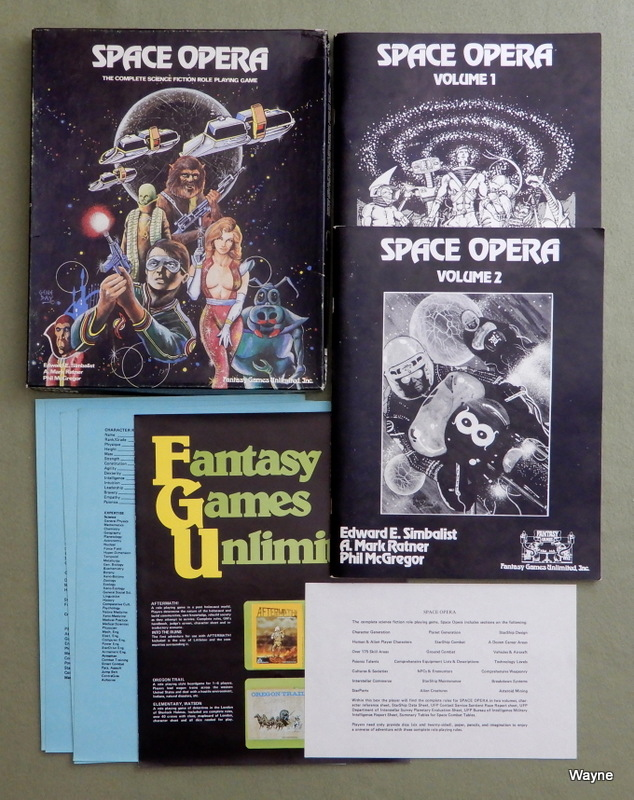 Image for Space Opera: Science Fiction Role Playing Game