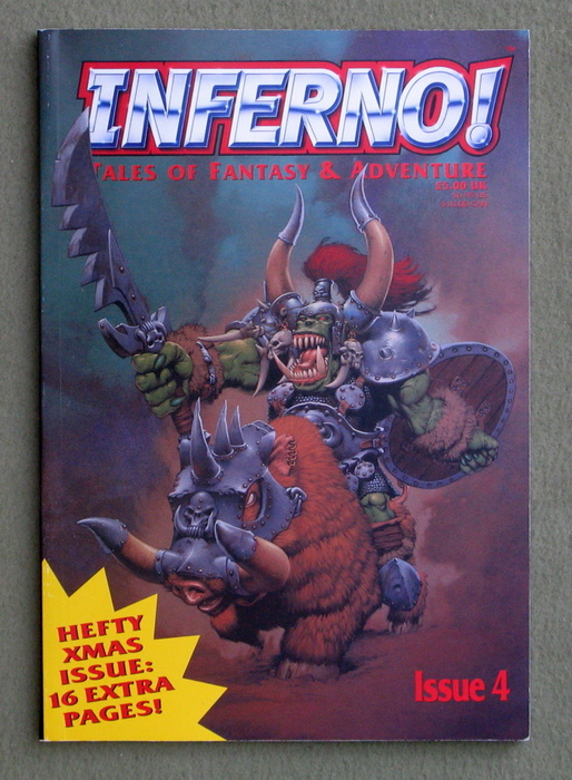 Image for Inferno! Issue 4: Tales of Fantasy & Adventure