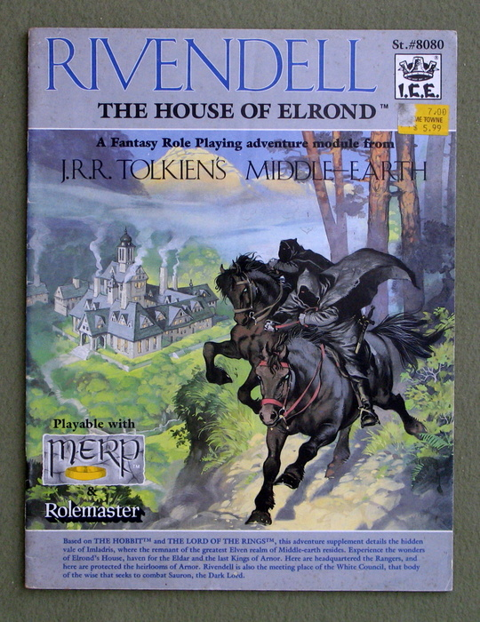 Image for Rivendell: The House of Elrond (Middle Earth Role Playing/MERP)