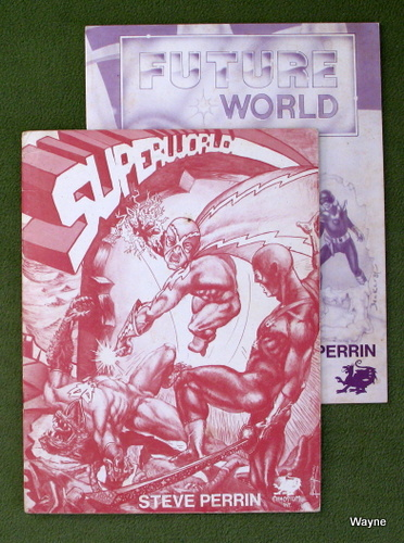 Image for Superworld & Future World (Worlds of Wonder: 2 Books only)