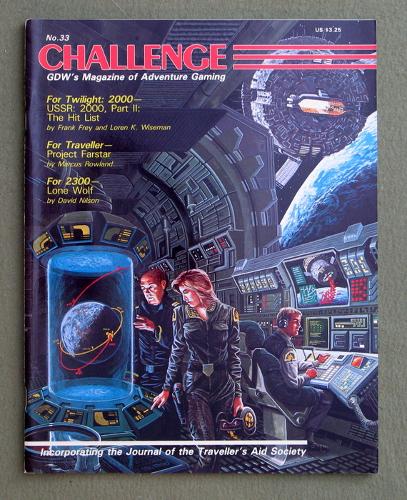 Image for Challenge Magazine, Issue 33