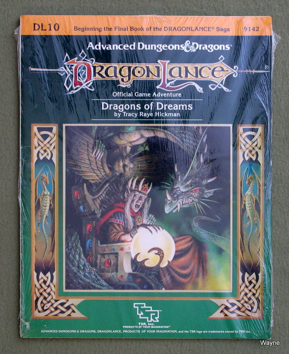 Image for Dragons of Dreams: Dragonlance Module Dl10 (Advanced Dungeons & Dragons)