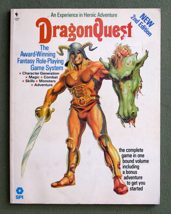 Image for DragonQuest Fantasy Roleplaying Game (Second Edition)