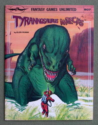Image for Tyrannosaurus Wrecks: Science Fiction Game