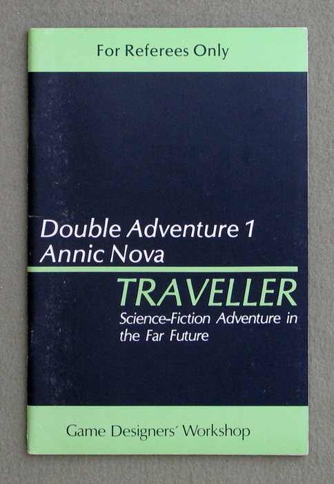 Image for Traveller Double Adventure 1: Shadows / Annic Nova - 1ST PRINT