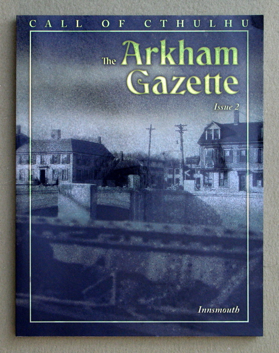 Image for The Arkham Gazette #2 (Call of Cthulhu)