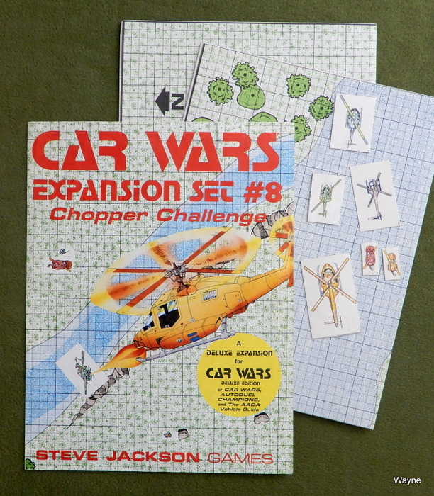Image for Car Wars Expansion Set #8: Chopper Challenge