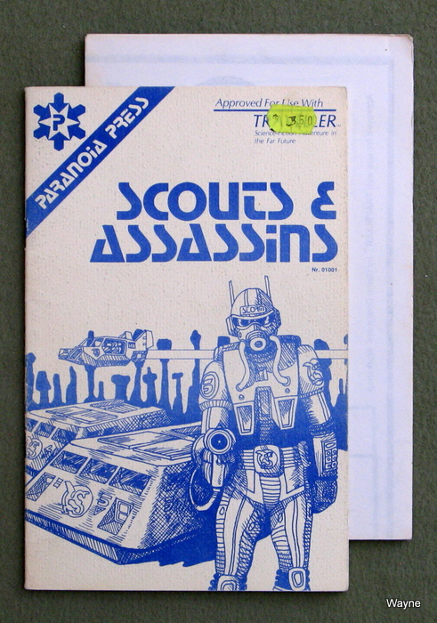 Image for Scouts & Assassins (Traveller RPG) - 2nd edition, 1st print