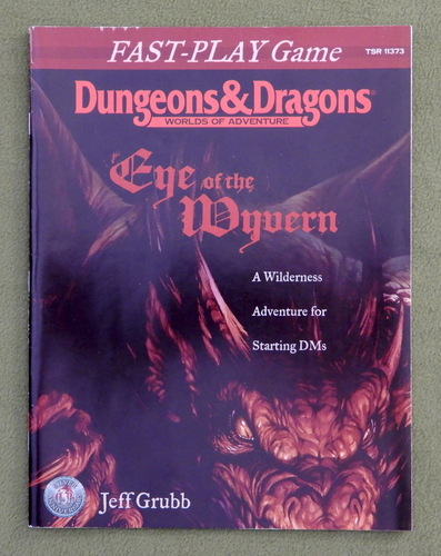 Image for Eye of the Wyvern (Dungeons & Dragons Fast-Play Game)