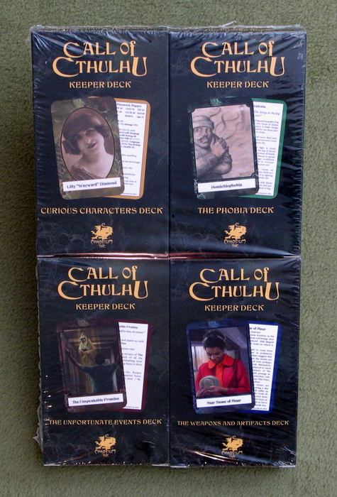 Image for Call of Cthulhu: Keeper Decks
