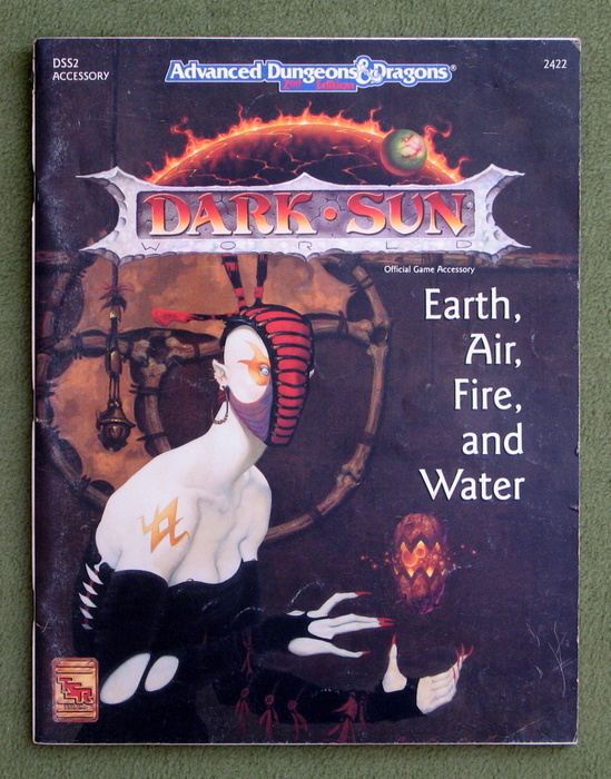 Image for Earth, Air, Fire and Water (Advanced Dungeons & Dragons: Dark Sun Setting Accessory DSS2) - PLAY COPY