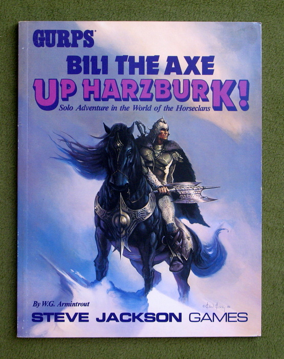 Image for GURPS Bili the Axe - Up Harzburk! (Horseclans Solo Adventure Campaign)