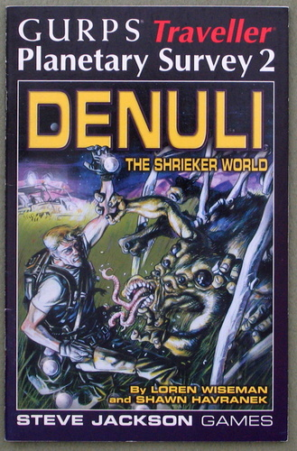 Image for Denuli, the Shrieker World (GURPS Traveller Planetary Survey 2)